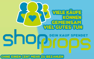 ShopProps - Dein Kauf spendet